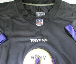 Lamar Jackson / Autographed Baltimore Ravens Pro Style Football Jersey / Coa