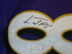 Lamar Jackson Signed Auto Baltimore Ravens Purple Jersey Jsa Autographed