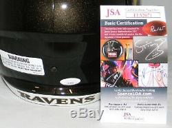 Lamar Jackson Signed Autographed Baltimore Ravens Full Size Speed Helmet Jsa