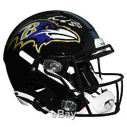 Lamar Jackson Signed Baltimore Ravens Authentic Full-Size Speed Flex Football He