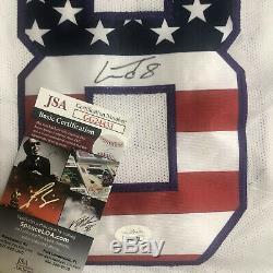 Lamar Jackson Signed Baltimore Ravens Autographed Jersey JSA