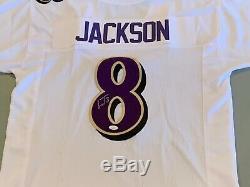 Lamar Jackson Signed Ravens Jersey JSA Authenticated