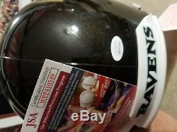 Lamar Jackson signed Baltimore Ravens AUTHENTIC full size helmet