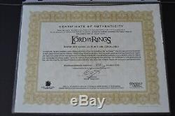 Lord of the Rings Framed Barad-dur Sideshow Weta Signed Peter Jackson John Howe