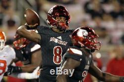 Louisville Cardinals Lamar Jackson Authentic Game Signed Jersey