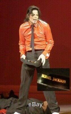MICHAEL JACKSON FEDORA HAT GOLDEN GATE WORLD TOUR 1987/88 no signed