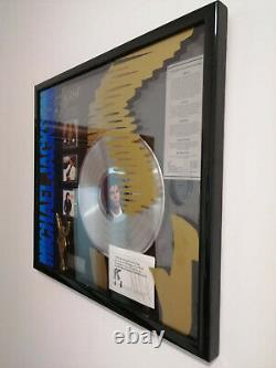 MICHAEL JACKSON Signed Artist Of The Decade
