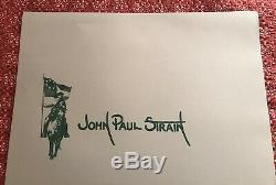 Message For Jackson Print by John Paul Strain Signed/Numbered with COA