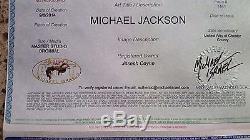 Michael Israel Original Michael Jackson Signed Painting On Canvas