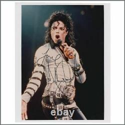 Michael Jackson 2001 Autographed Photograph (UK)