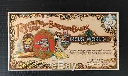 Michael Jackson Authentic Autographed RARE Circus World Amusement Park Ticket