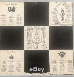 Michael Jackson Authentic Signed Autograph on record album cover