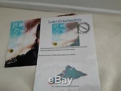 Michael Jackson Autogramm Autograph signed A4 Format