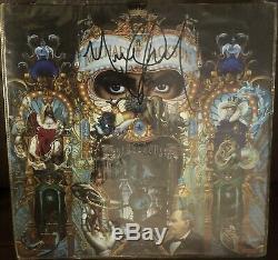 Michael Jackson Autographed Hand Signed Dangerous Album Cover Artwork 12 Promo