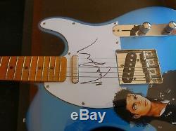 Michael Jackson Autographed Signed Guitar withOriginal Artwork PSA/DNA Certified