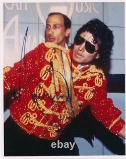 Michael Jackson- Color Signed Photograph