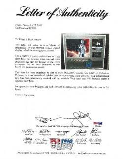 Michael Jackson History Autographed Riaa Award With Letter Of Authenticity