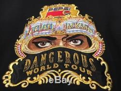 Michael Jackson Holy Grail Signed Dangerous Leather Jacket Rare Size 1 of a kind