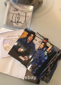 Michael Jackson Invincible Signed Album + Photos