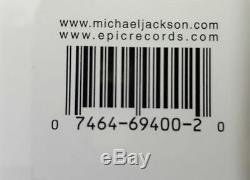 Michael Jackson Invincible Signed CD (green Cover) With Virgin Megastore Pass