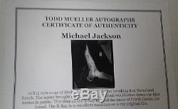 Michael Jackson Original Period X-ray 10 X12 Historical Museum Piece Not Signed