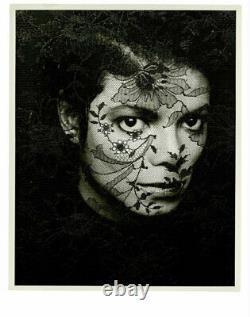 Michael Jackson Original Photo by Greg Gorman 1987 Limited Edition #6/25 signed