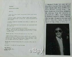 Michael Jackson Own Worn Owned Glasses From 1984 Victory Tour Not Fedora Signed