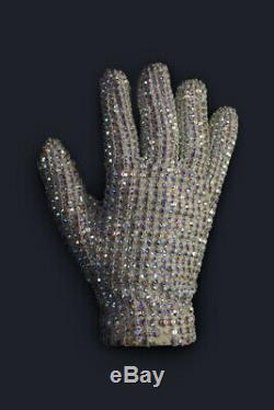 Michael Jackson Own Worn Owned Glove From History Tour No Fedora Signed