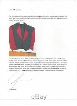 Michael Jackson Own Worn Owned Jacket No Glove Fedora Signed