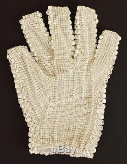 Michael Jackson Own Worn Owned Left Glove From Victory Era No Fedora Signed