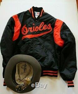 Michael Jackson Own Worn Owned Orioles Jacket Not Fedora W Signed Coa & Loa