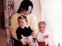 Michael Jackson Own Worn Photo Shoot Shirt No Signed Glove Fedora Jacket