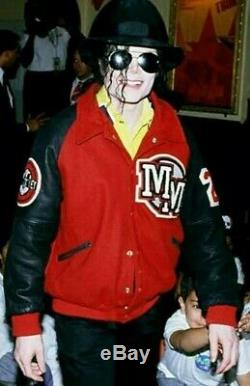 Michael Jackson Owned Worn Disney Mickey Mouse Jacket 1990s Not Signed