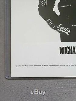 Michael Jackson Signed Autograph 8x10 Photo Great condition No COA