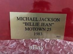 Michael Jackson Signed Autographed Photo Framed Amazing Item Bad Thriller Own