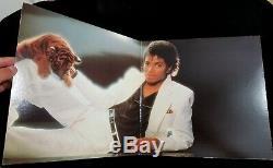 Michael Jackson Signed Autographed Thriller Album BAS BECKETT LOA