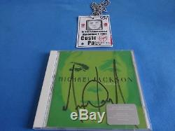 Michael Jackson Signed Invincible CD With Vip Pass
