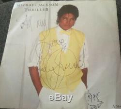 Michael Jackson Signed LP