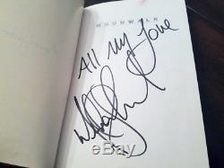 Michael Jackson Signed Moonwalk First Edition 1988