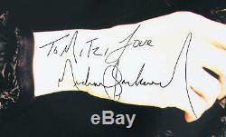 Michael Jackson Signed Program History World Tour COA JSA