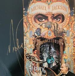Michael Jackson Signed The Short Films Laser Disk withcoa
