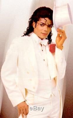 Michael Jackson Signed Worn Hat Coa