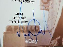 Michael Jackson Ultra Rare A Night At The Apollo Signed Program (2002) Autograph