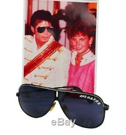 Michael Jackson Victory Tour own Worn Custom Aviator Glasses no signed glove fed