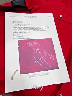 Michael Jackson Worn And Signed Shirt Coa