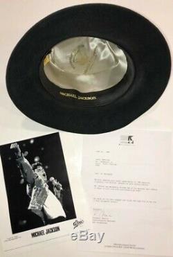 Michael Jackson Worn Fedora / Bad World Tour / Not Signed