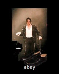 Michael Jackson Worn Loafers Mjj Loa Read No Signed Glove(7 Hrs Left!)