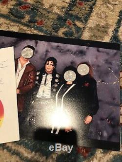 Michael Jackson autograph Moonwalk, Signed
