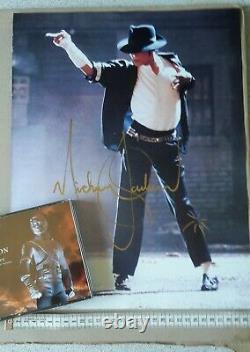 Michael Jackson autograph Signed poster