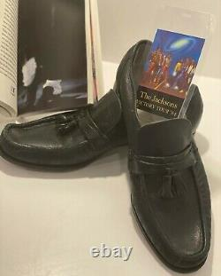 Michael Jackson's Victory Tour Signed Loafers